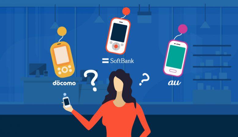 キッズ携帯どこがおススメ?ドコモ・au・ソフトバンク料金比較