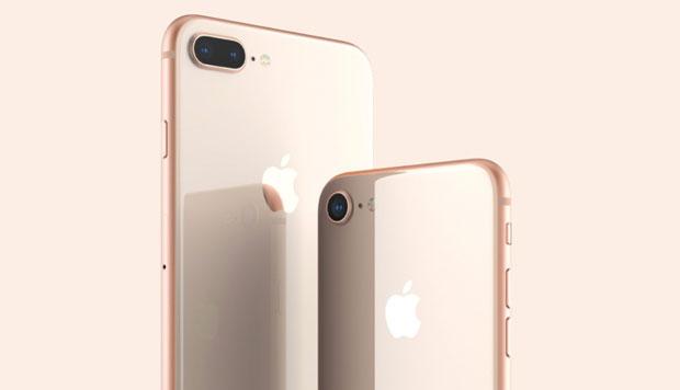 iPhone8、iPhone8Plusでは今までの中で最も耐久性のあるガラスが使用されています。