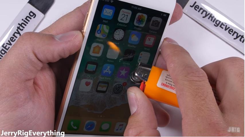 iPhone8耐久テストtest10