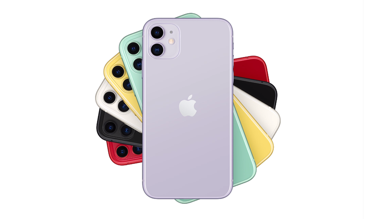iPhone11のカラーラインナップ